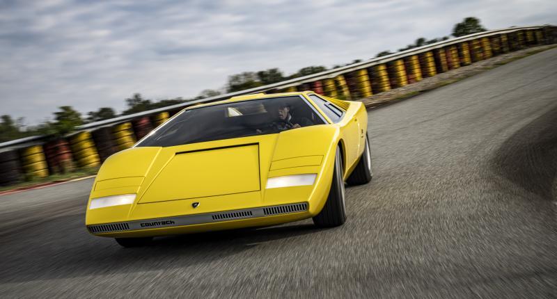 Dit is waarom de eerste Lamborghini Countach een periscoop had