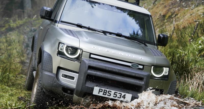 Test - De Land Rover Defender 90 is kort maar krachtig