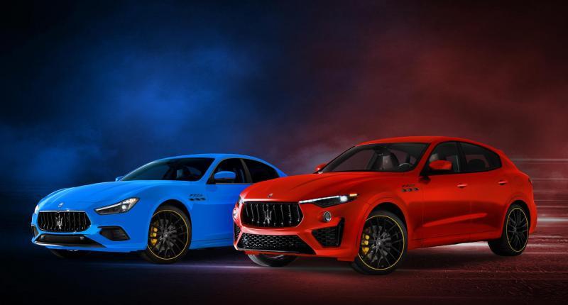 Maserati Ghibli en Levante F Tributo geven het raceverleden kleur