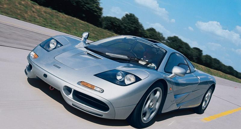 Zo voelt het om met een McLaren F1 bijna 400 km/h te rijden