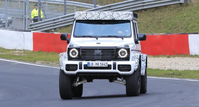 Mercedes G 500 4x4: de Mercedes G-Klasse op stelten komt terug!