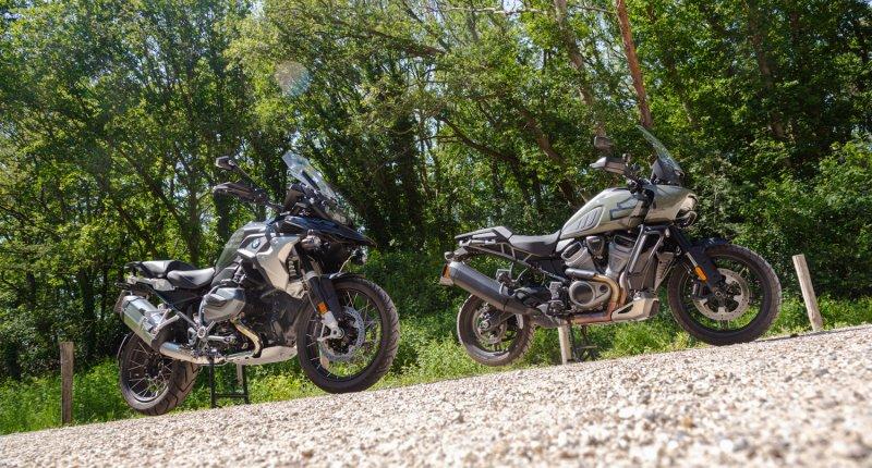 Motortest - BMW R 1250 GS vs. Harley Davidson Pan America: is de bestverkochte adventure-motorfiets ook de beste?
