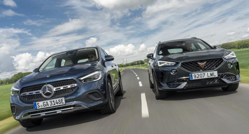 Test Cupra Formentor e-Hybrid en Mercedes GLA 250e: de Mitsubishi 'Foutlander' voorbij
