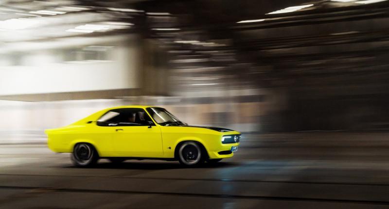 Schrikken van de nieuwe Opel Manta