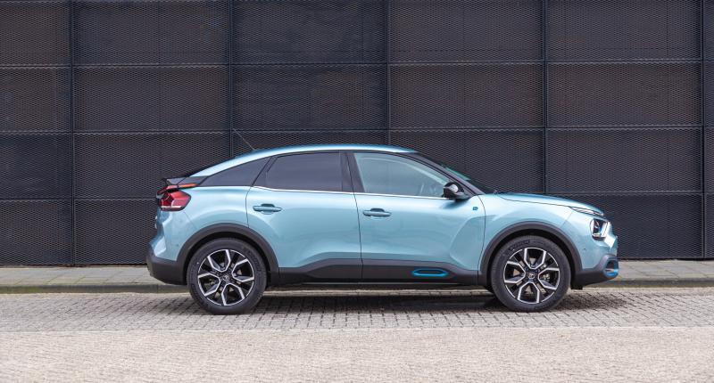 Drie voordelen en drie nadelen van de elektrische Citroën e-C4
