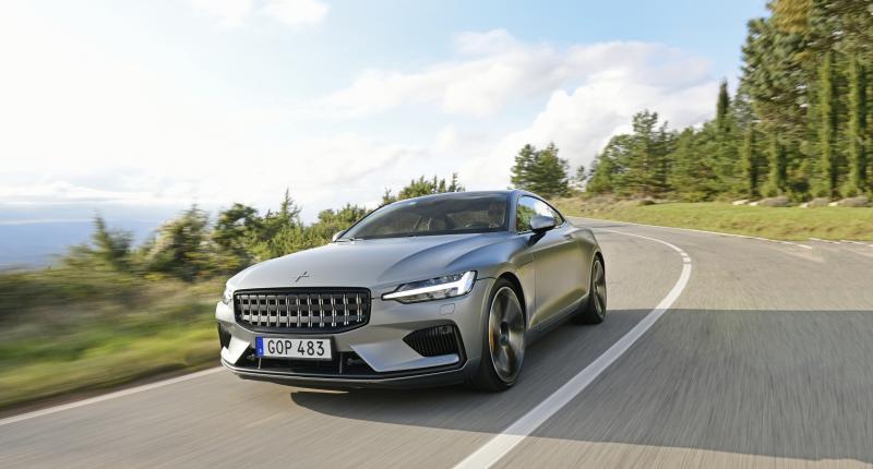 Review - De Polestar 1 is te bruut voor het Volvo-embleem