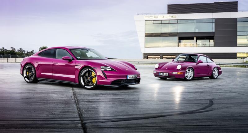 Cultkleuren voor Porsche Taycan - Waag het niet om hem nu nog in het grijs te bestellen!