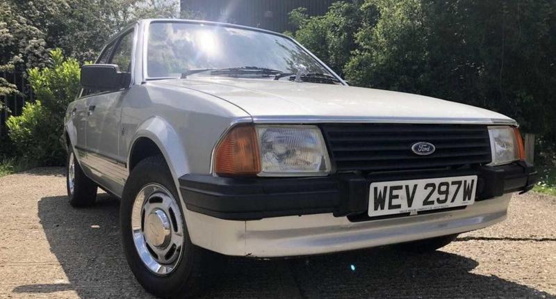 50.000 euro voor een oude Ford Escort? Wel als hij van prinses Diana is geweest