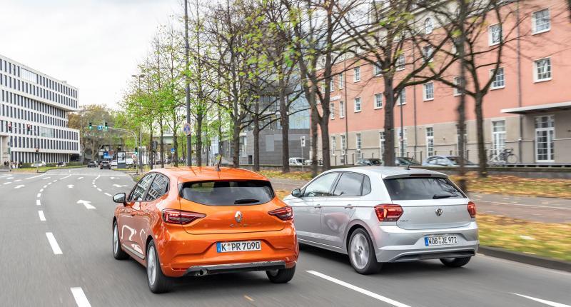 Test: welke is ruimer, de Renault Clio of de Volkswagen Polo?