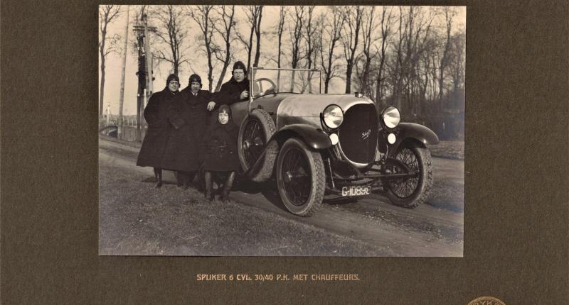 Net als in 1920: doldwaze avonturen met een Spyker