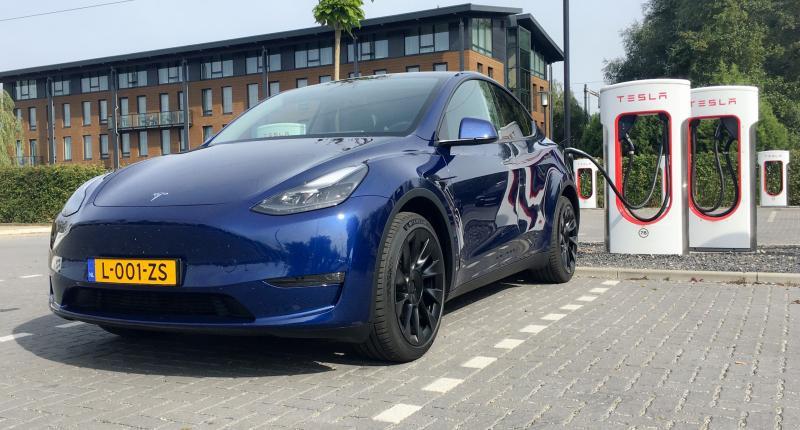 Tesla Model Y Long Range: actieradius gemeten bij 100 en 130 km/h