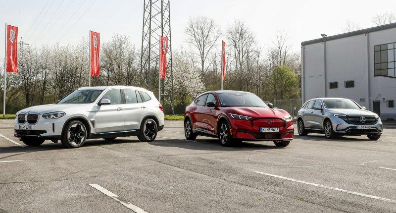 Test BMW iX3, Ford Mustang Mach-E en Mercedes EQC: dit is de comfortabelste grote elektrische suv