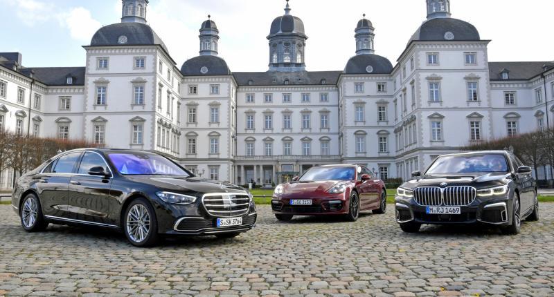 Test: Mercedes S-klasse verslaat BMW 7-serie en Porsche Panamera op deze 6 punten