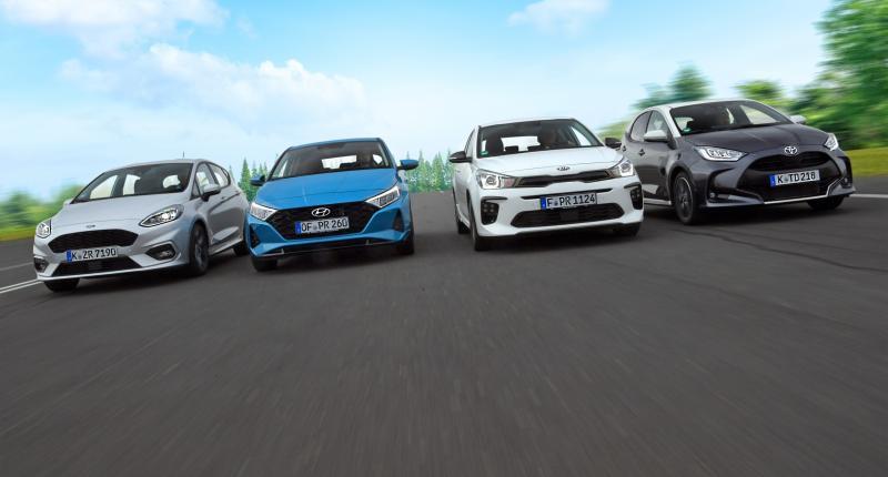 Fiesta, i20, Rio en Yaris getest: Mild hybrid géén garantie voor zuinig rijden
