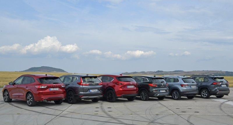 Mega SUV-test: zo ver kom je op één volle tank met de Toyota RAV4