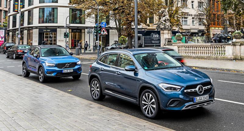 Hybride suv's getest: zo zuinig zijn de Volvo XC40 Plug-in Hybrid en Mercedes GLA 250e