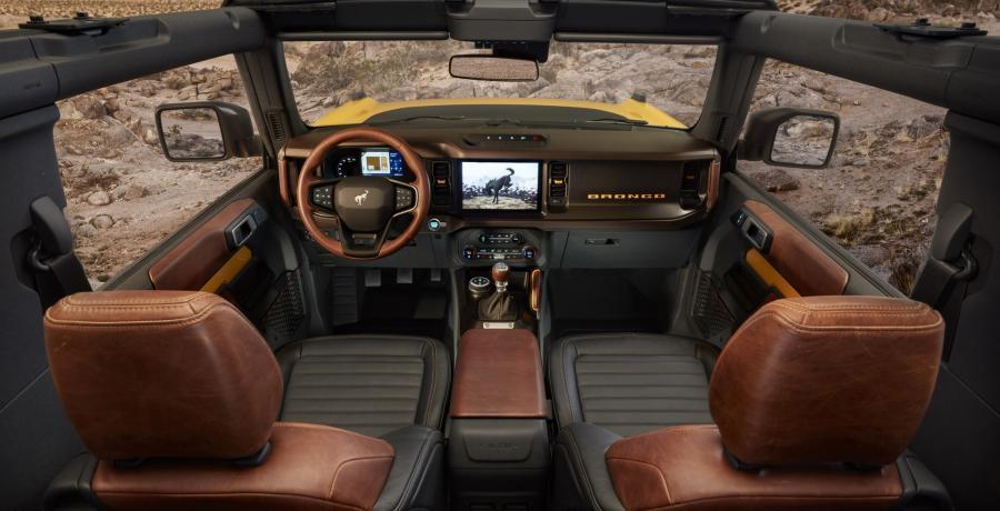 Hè hè, dit is dan eindelijk de nieuwe Ford Bronco