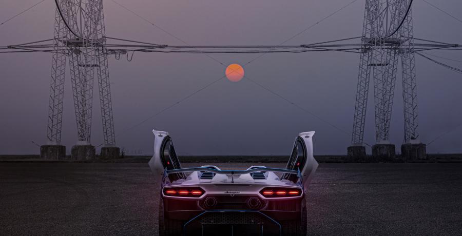 Bij de Lamborghini SC20 hoef je nooit meer ruiten te krabben
