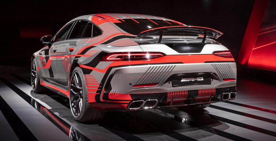 Mercedes-AMG GT73e wordt 800+ pk sterke plug-in hybride