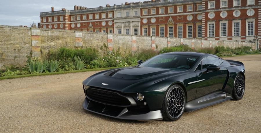 Twee woorden voor de Aston Martin Victor: 'Holy shit!!!'