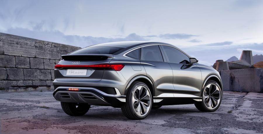 Audi Q4 Sportback E-Tron Concept komt volgend jaar op de markt