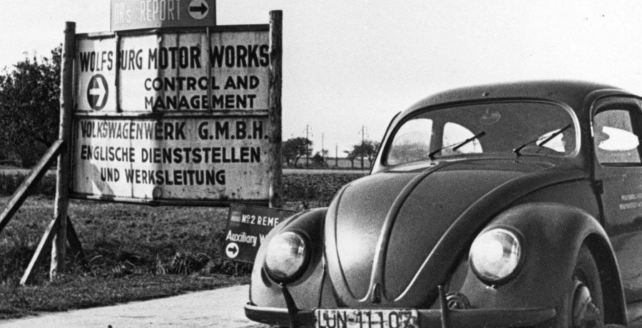 Waar komt het Volkswagen-logo vandaan?
