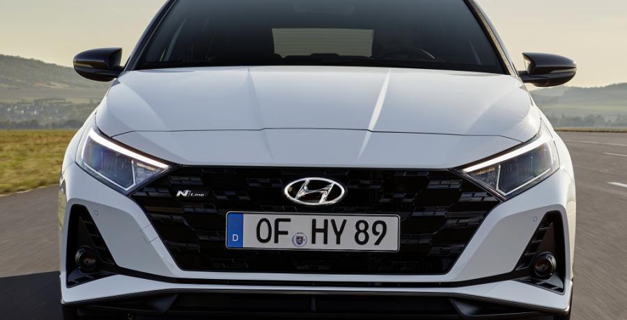 Hyundai i20 N Line heeft zich lekker sportief aangekleed