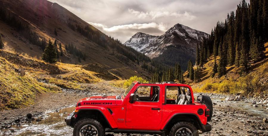 Jeep Wrangler 5-drs prijzen en specificaties
