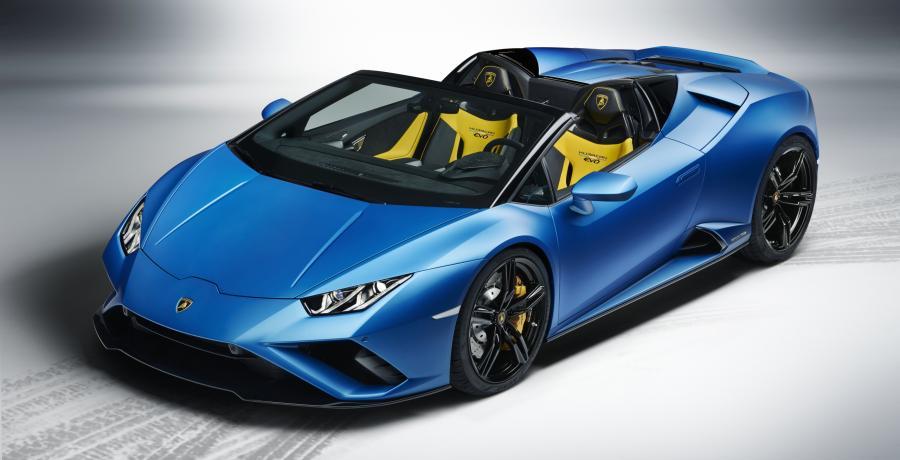 Lamborghini Huracán Evo RWD Spyder net op tijd voor de zomer