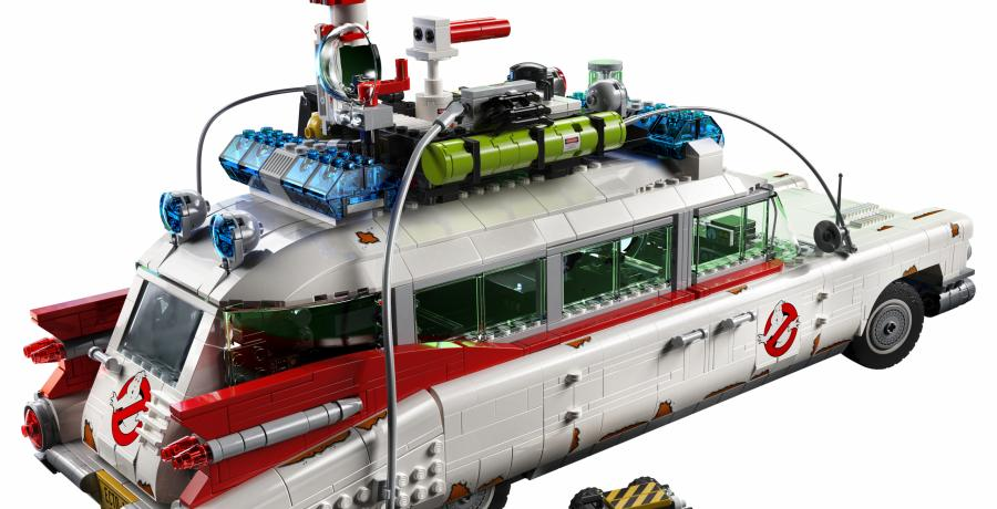 Ghostbusters ECTO-1 van Lego is net te laat voor Halloween