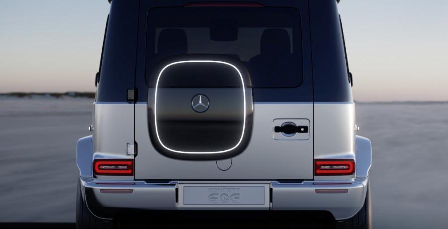 Duitsers maken geen grappen. Maar de Mercedes Concept EQG moet er een zijn ...