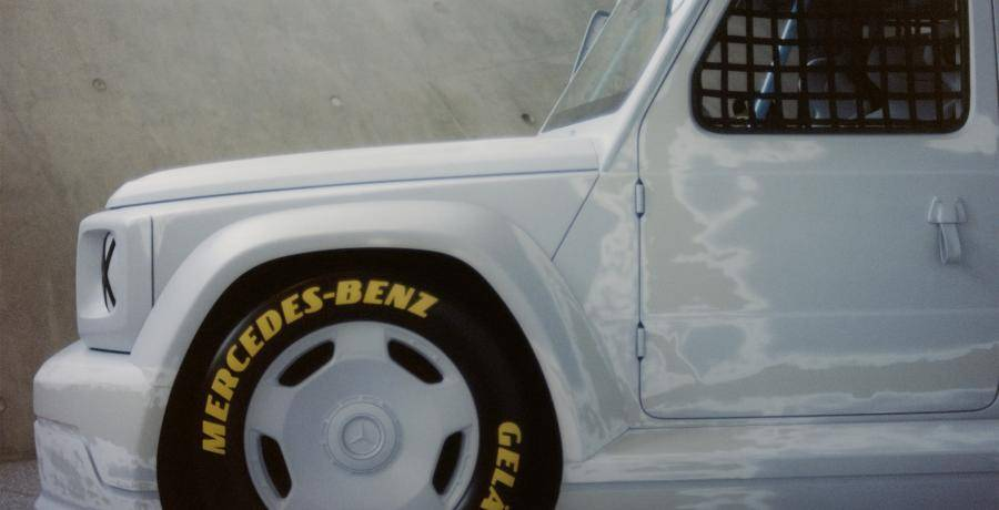 Begrijpen jullie iets van deze kunstige Mercedes G-Klasse?