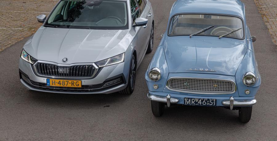 Twee generaties Skoda Octavia: Complete luxe voor weinig geld