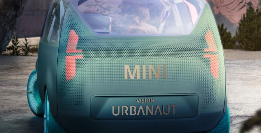 In de Mini Vision Urbanaut ga je spontaan wierook branden