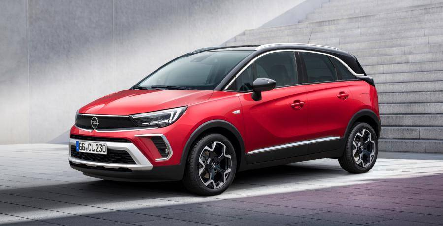 Waarom de nieuwe Opel Crossland op de Opel Manta lijkt