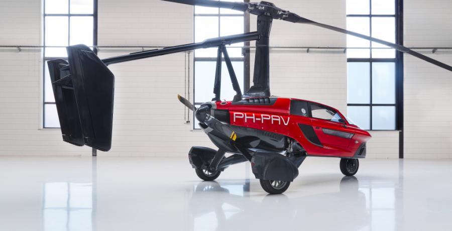 RDW: Nederlandse 'vliegende auto' PAL-V mag de openbare weg op