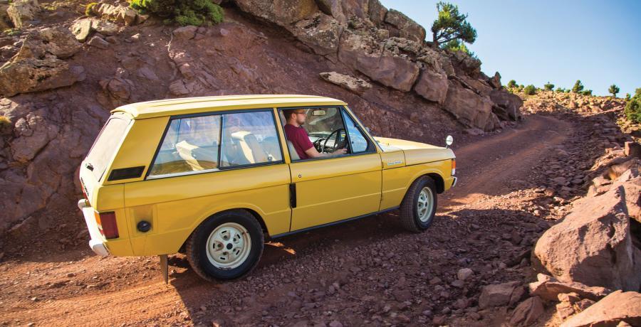 Range Rover 50 jaar - de presentatie die nooit doorging