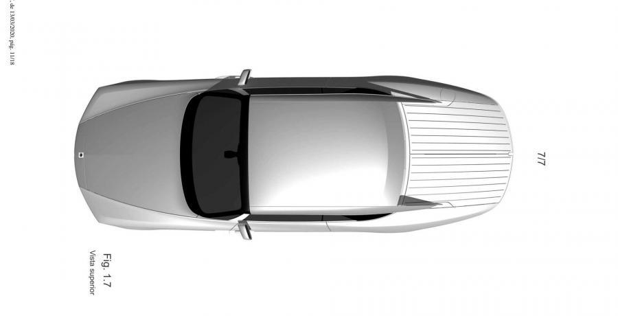 Patenttekeningen: Rolls-Royce komt met deze unieke Phantom Coupé