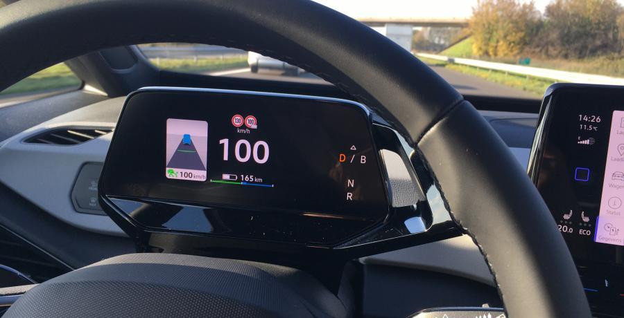 Volkswagen ID.3: actieradius gemeten bij 130 en 100 km/h