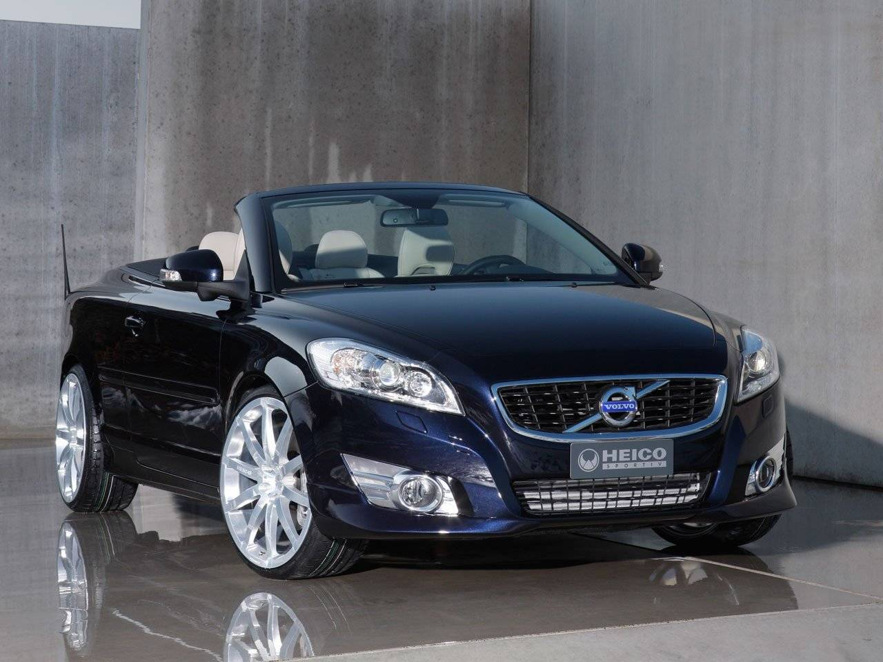 heico sportiv verfraait volvo c70 tuning styling. Black Bedroom Furniture Sets. Home Design Ideas
