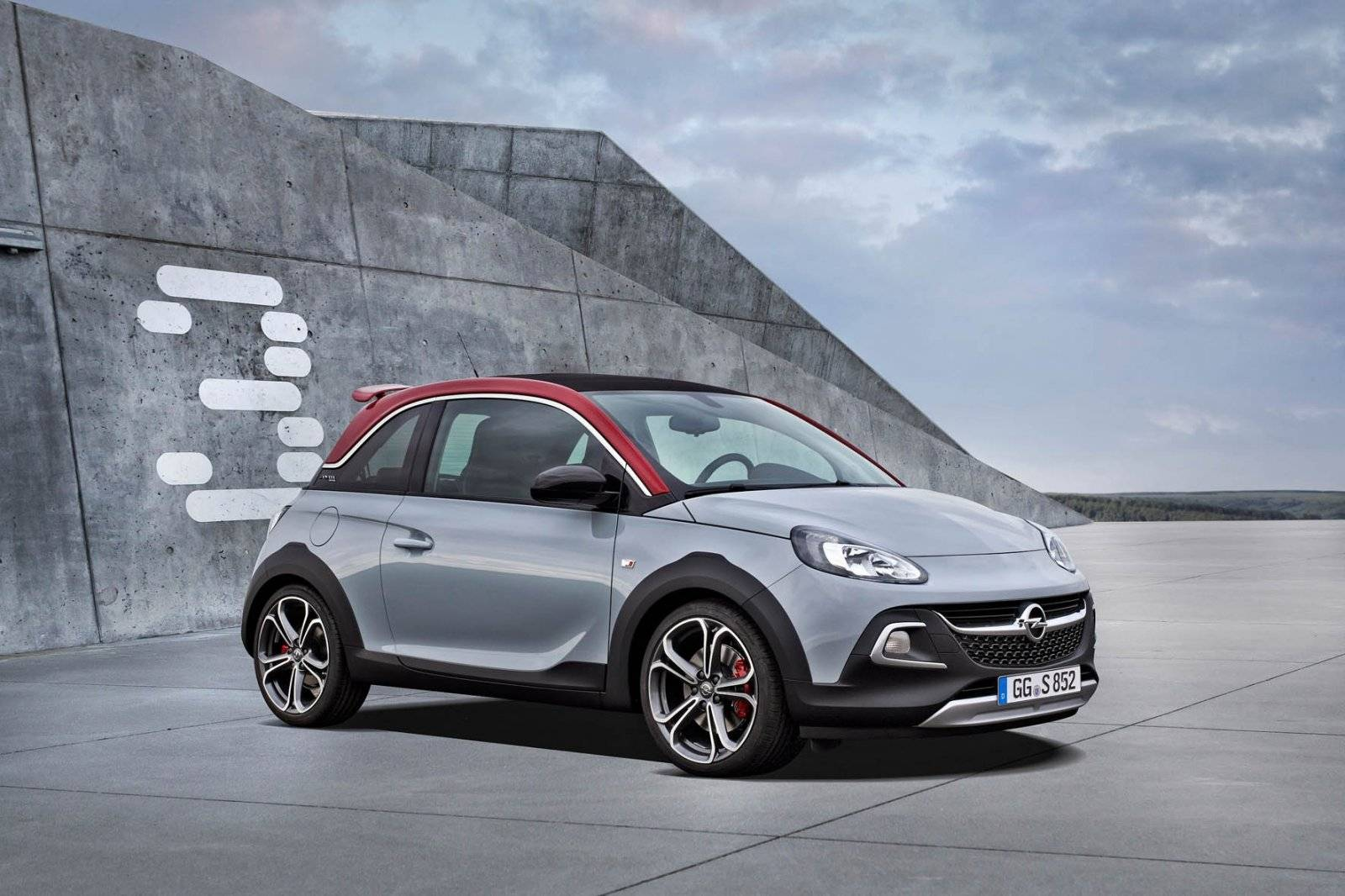 logisch vervolg opel adam rocks s autonieuws. Black Bedroom Furniture Sets. Home Design Ideas