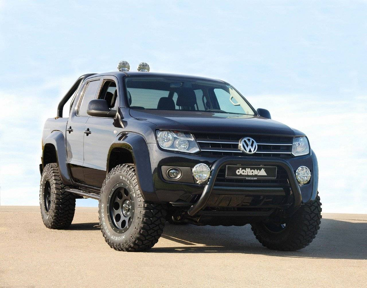 monsterlijke volkswagen amarok van delta 4x4 tuning styling. Black Bedroom Furniture Sets. Home Design Ideas