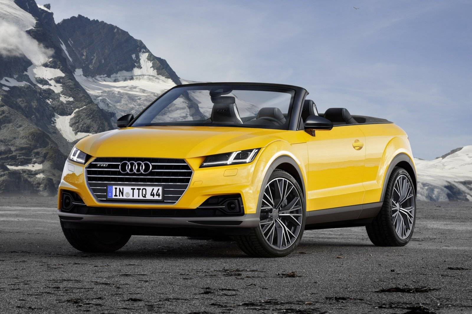 audi ttq cabrio opent aanval op de evoque autonieuws. Black Bedroom Furniture Sets. Home Design Ideas