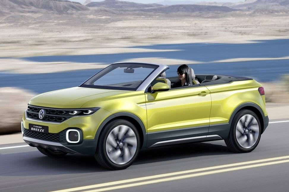 volkswagen t cross breeze is begin crossover offensief autonieuws. Black Bedroom Furniture Sets. Home Design Ideas
