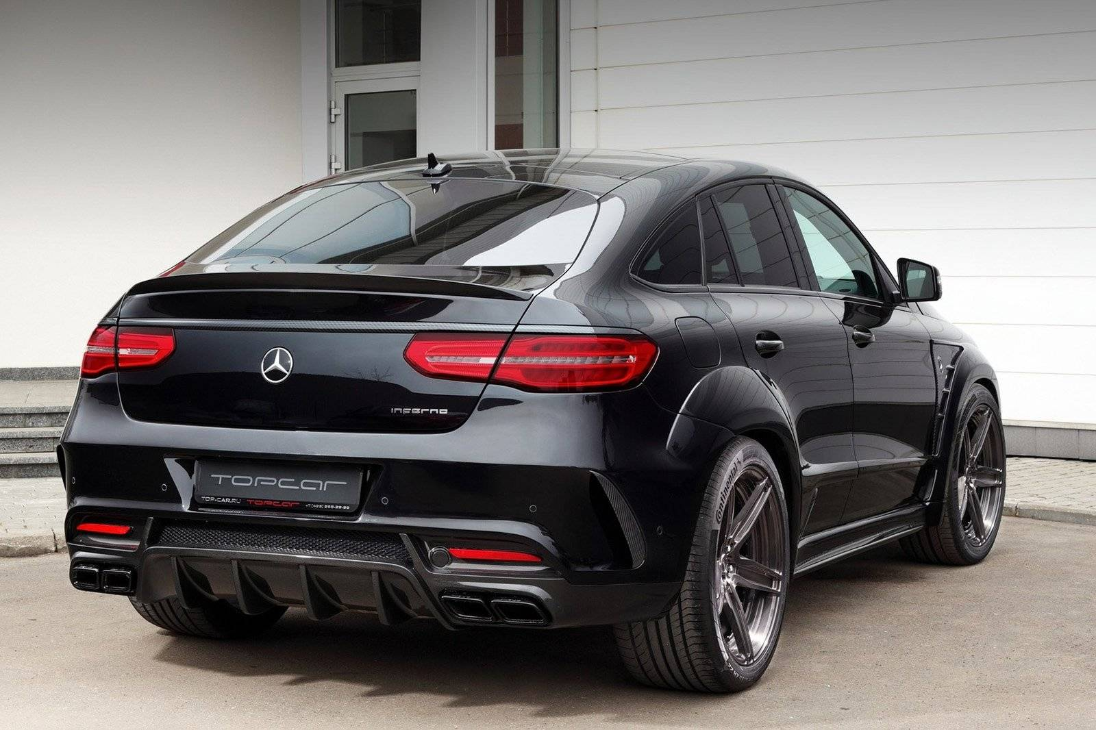 Topcar vertimmert Mercedes GLE Coupé / Tuning & styling ...