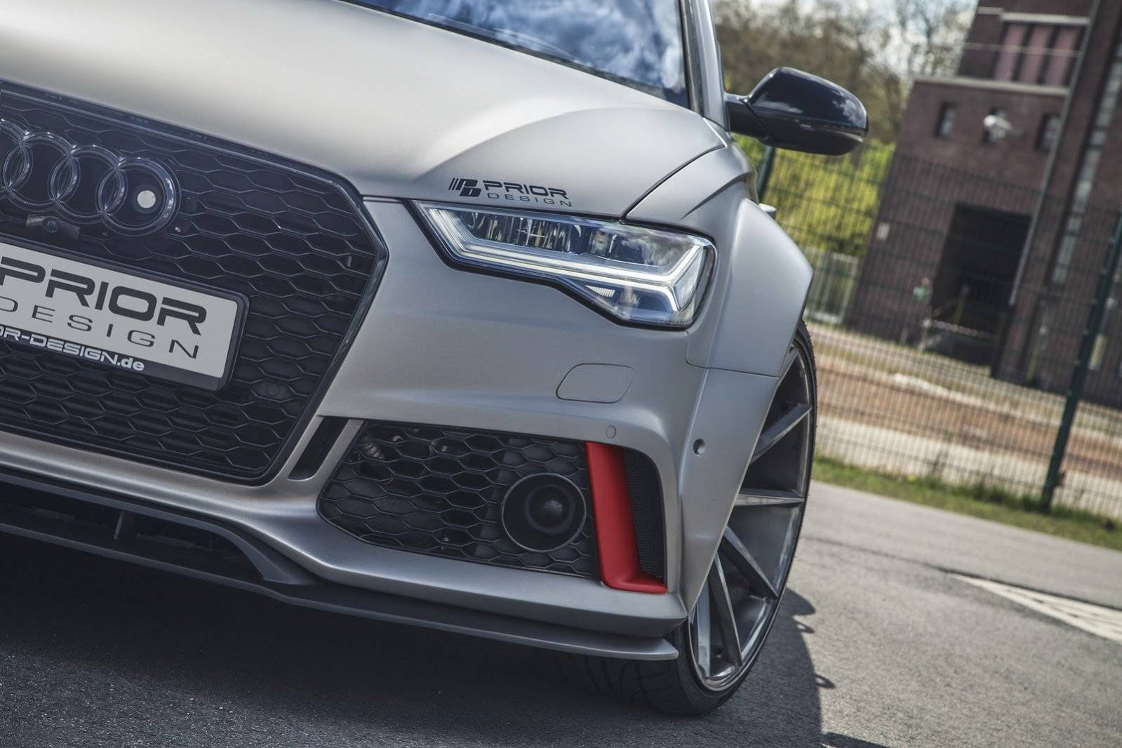 dikker dan dik audi rs 6 by prior design tuning. Black Bedroom Furniture Sets. Home Design Ideas