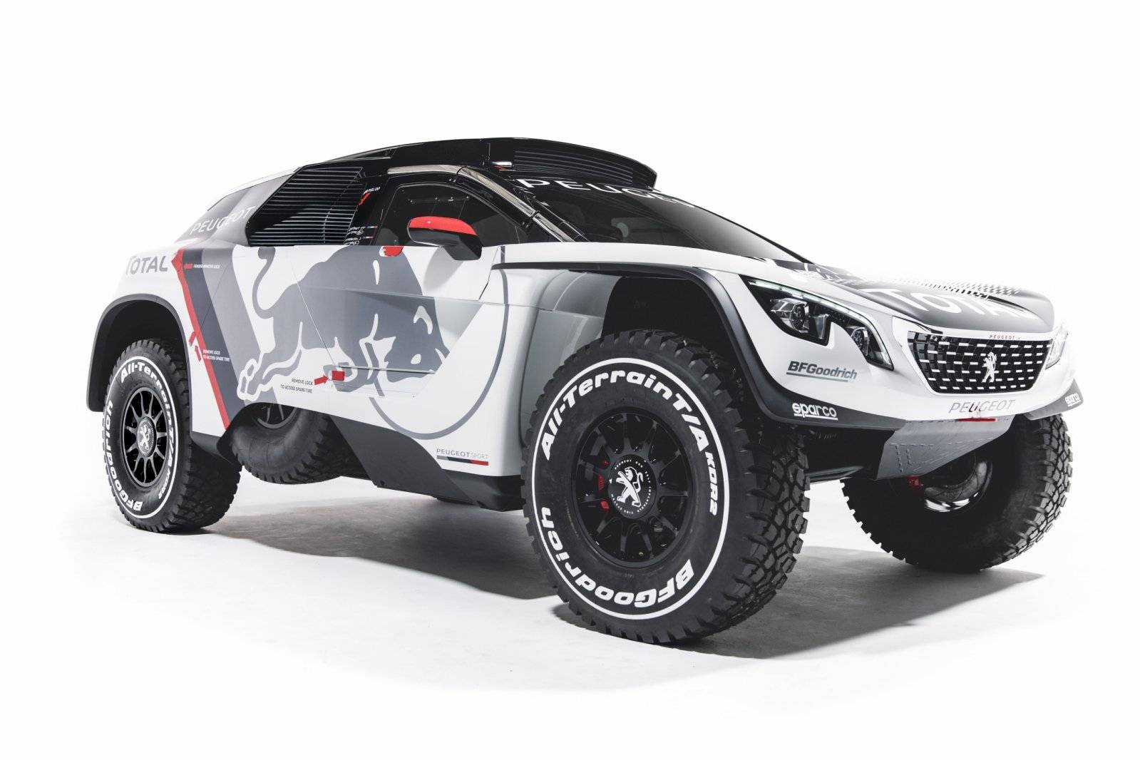 peugeot 3008 dkr is klaar voor dakar 2017 autonieuws. Black Bedroom Furniture Sets. Home Design Ideas
