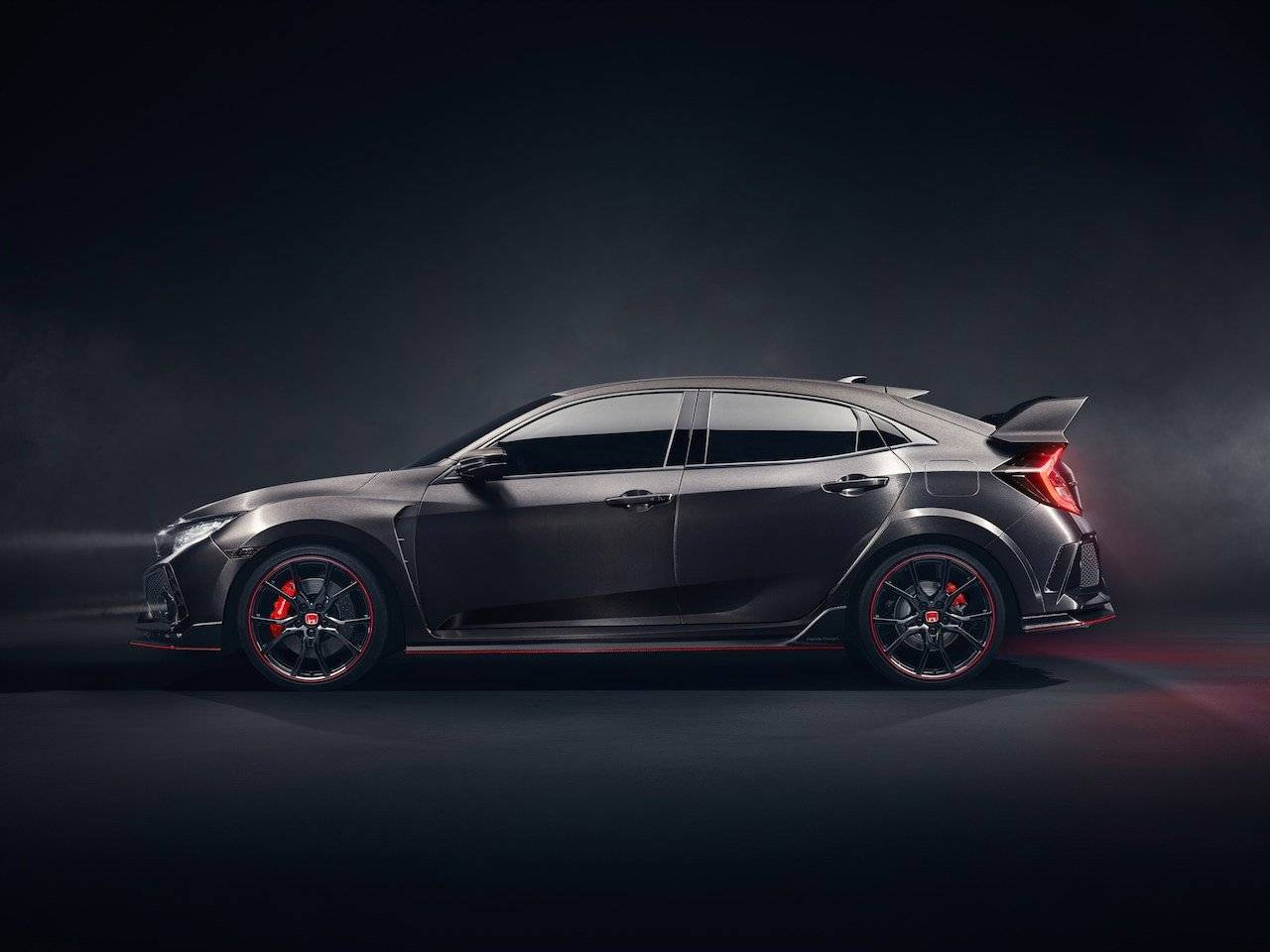 honda civic type r concept ontketend autonieuws. Black Bedroom Furniture Sets. Home Design Ideas