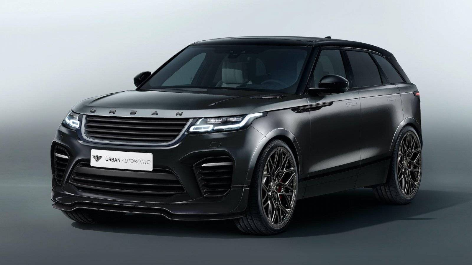 range rover velar heeft zijn eerste make over te pakken tuning styling. Black Bedroom Furniture Sets. Home Design Ideas