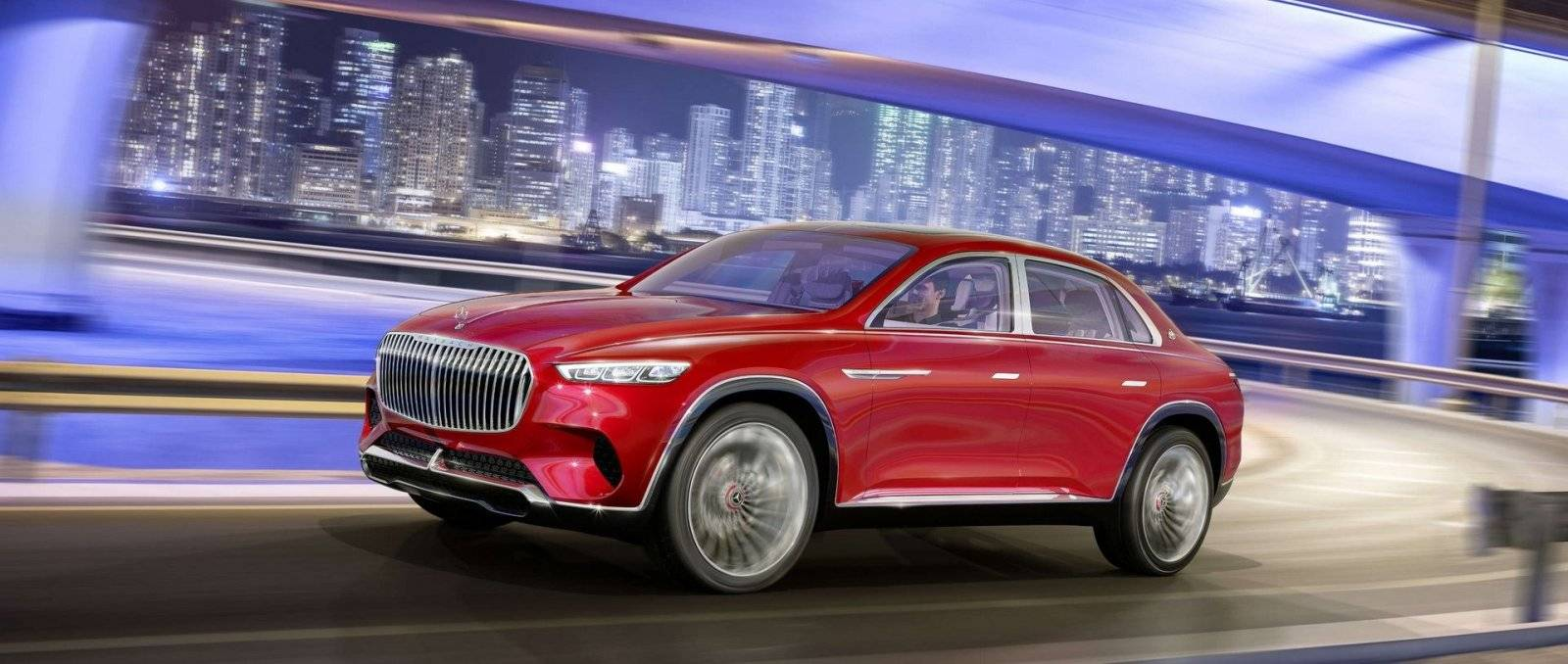 Mercedes Maybach Ultimate Luxury Concept Lekt Uit Autowereld Com